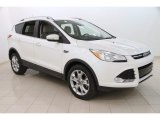 2014 White Platinum Ford Escape Titanium 2.0L EcoBoost 4WD #111280646