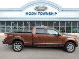 2012 Golden Bronze Metallic Ford F150 Platinum SuperCrew 4x4 #111280527