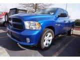 2014 Blue Streak Pearl Coat Ram 1500 Express Quad Cab #111328405