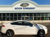 2015 White Platinum Metallic Ford Fusion Titanium AWD #111328461