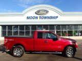 2013 Ruby Red Metallic Ford F150 XLT SuperCab 4x4 #111328460