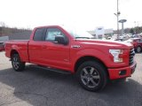 2016 Race Red Ford F150 XLT SuperCab 4x4 #111328369
