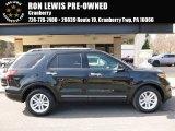 2014 Tuxedo Black Ford Explorer XLT 4WD #111328362