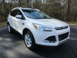 2016 White Platinum Metallic Ford Escape Titanium #111328539