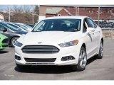 2016 White Platinum Tri-Coat Metallic Ford Fusion SE AWD #111328425