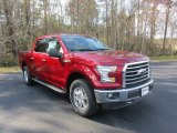 2016 Ruby Red Ford F150 XLT SuperCrew 4x4 #111328536
