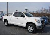 2014 Super White Toyota Tundra SR5 Double Cab #111328415