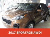2017 Burnished Copper Kia Sportage LX AWD #111328251
