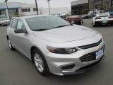2016 Silver Ice Metallic Chevrolet Malibu LS #111328533