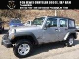 2016 Billet Silver Metallic Jeep Wrangler Unlimited Sport 4x4 #111328523