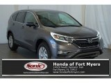 2016 Modern Steel Metallic Honda CR-V EX #111351895