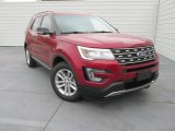 2016 Ruby Red Metallic Tri-Coat Ford Explorer XLT #111352110
