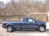 2016 Blue Jeans Ford F150 XLT SuperCab 4x4 #111352014