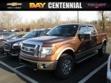 2012 Golden Bronze Metallic Ford F150 Lariat SuperCrew 4x4 #111352009