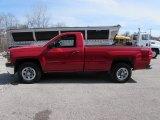 2014 Victory Red Chevrolet Silverado 1500 WT Regular Cab 4x4 #111352307