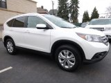 2014 White Diamond Pearl Honda CR-V EX-L AWD #111352002