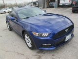 2016 Deep Impact Blue Metallic Ford Mustang V6 Coupe #111351997