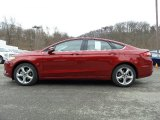 2016 Ruby Red Metallic Ford Fusion SE AWD #111352077