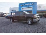 2016 Autumn Bronze Metallic Chevrolet Silverado 1500 LT Crew Cab #111352144