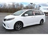 2015 Toyota Sienna SE Data, Info and Specs