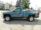 2012 Blue Granite Metallic Chevrolet Silverado 1500 LT Regular Cab 4x4 #111389215