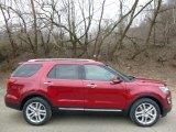 2016 Ruby Red Metallic Tri-Coat Ford Explorer Limited 4WD #111389285