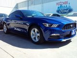 2016 Deep Impact Blue Metallic Ford Mustang V6 Coupe #111389240