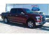2016 Bronze Fire Ford F150 XLT SuperCrew #111389238