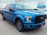 2016 Blue Flame Ford F150 XLT SuperCrew #111389236