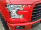 2016 Race Red Ford F150 XLT SuperCrew #111389233