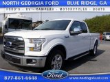 2016 Oxford White Ford F150 Lariat SuperCab #111389085