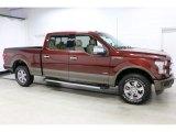 2016 Bronze Fire Ford F150 Lariat SuperCrew 4x4 #111389082