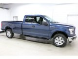 2016 Blue Jeans Ford F150 XLT SuperCab 4x4 #111388998