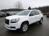 2016 Summit White GMC Acadia SLE AWD #111428451