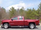 2014 Deep Ruby Metallic Chevrolet Silverado 1500 LT Double Cab 4x4 #111428179