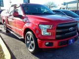 2016 Race Red Ford F150 Lariat SuperCrew #111428268