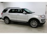 2016 Ingot Silver Metallic Ford Explorer Limited 4WD #111428050
