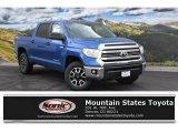 2016 Blazing Blue Pearl Toyota Tundra SR5 CrewMax 4x4 #111461819