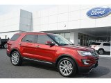 2016 Ruby Red Metallic Tri-Coat Ford Explorer Limited #111462046
