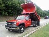 2004 Chevrolet Silverado 3500HD Chassis 4x4 Dump Truck Data, Info and Specs
