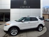 2014 White Platinum Ford Explorer Limited 4WD #111462035