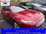 2013 Ruby Red Metallic Ford Fusion Titanium #111461954