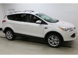 2016 White Platinum Metallic Ford Escape Titanium 4WD #111461794