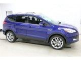 2016 Deep Impact Blue Metallic Ford Escape Titanium 4WD #111461745