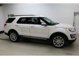 2016 White Platinum Metallic Tri-Coat Ford Explorer Limited 4WD #111461716