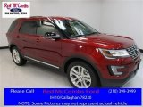 2016 Ruby Red Metallic Tri-Coat Ford Explorer XLT #111461937