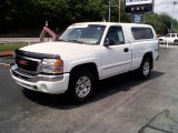 2005 Summit White GMC Sierra 1500 SLE Regular Cab 4x4 #11127189