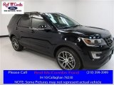2016 Shadow Black Ford Explorer Sport 4WD #111500853
