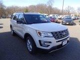 2016 White Platinum Metallic Tri-Coat Ford Explorer XLT 4WD #111520846