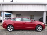 2016 Ruby Red Metallic Ford Fusion SE AWD #111520840